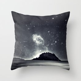 Island in the sea of eternity Throw Pillow