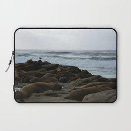 San Diego Sea Lions.....Sunbathing Laptop Sleeve