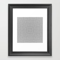 Bardarbunga Silver Framed Art Print