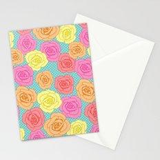 Spotty Rose Stationery Cards