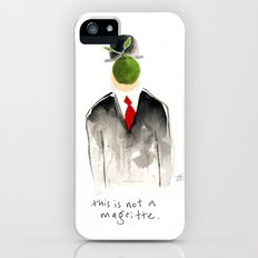 this is not a magritte Slim Case iPhone (5, 5s)