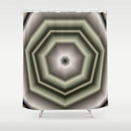 Polygon Auras in CMR 03 Shower Curtain