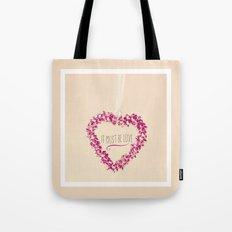It must be love  Tote Bag