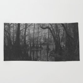 Florida Swamp Beach Towel