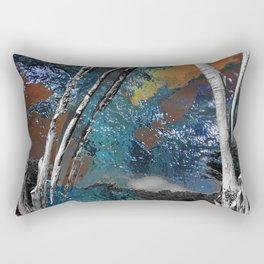 Light in the Wilderness Rectangular Pillow