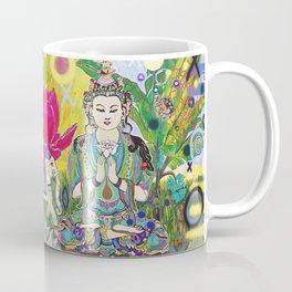 Green Tara in Paradise Coffee Mug