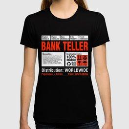 Funny Bank Teller Tee T-shirt