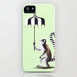 Ring Tailed Lemur iPhone Case
