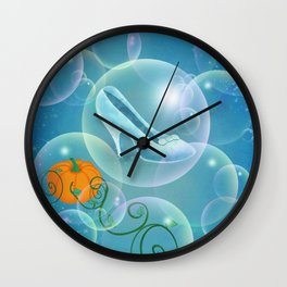 Sing Sweet Nightingale Wall Clock