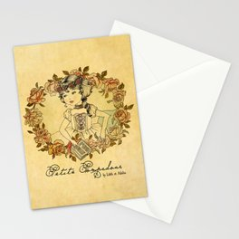 Petite Pompadour Stationery Cards
