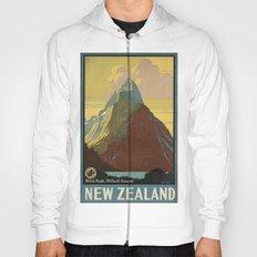 Vintage poster - New Zealand Hoody