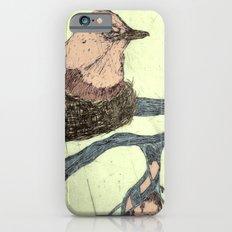 Bird Etching iPhone 6s Slim Case