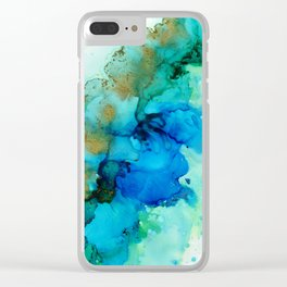 Water Twill Clear iPhone Case