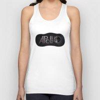 apollo Tank Tops featuring Apollo 11 by ZacLeck