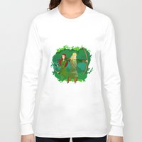 legolas Long Sleeve T-shirts featuring Legolas by hikary