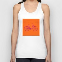 bicycle Tank Tops featuring Bicycle by Mr & Mrs Quirynen
