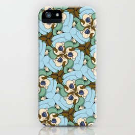 Salut José, c'est Yvon tessellation iPhone Case