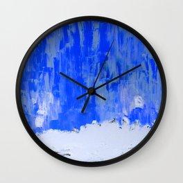Snow Dreams Wall Clock