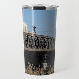 On top of the bridge Travel Mug
