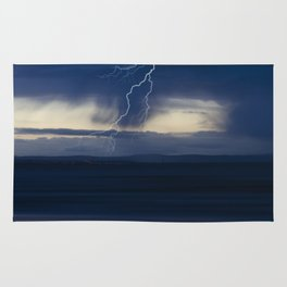 Stormy seascape Rug