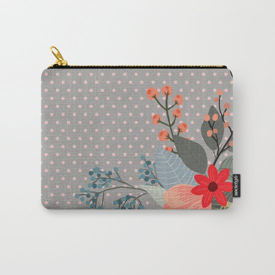 Flowers bouquet #8 Carry-All Pouch