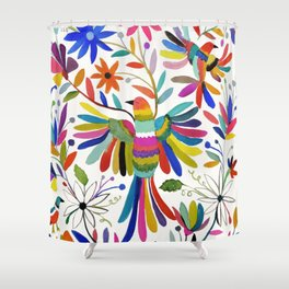 otomi bird Shower Curtain