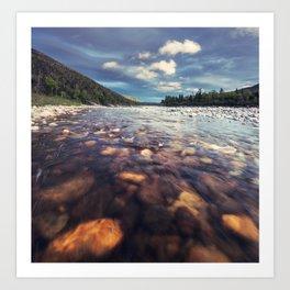 Lapoile River Art Print