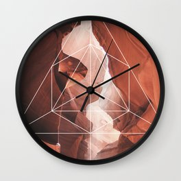 A Great Canyon - Geometric Photography Wall Clock