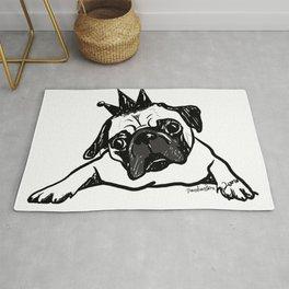 King Pug Rug