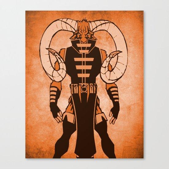 The Ram Canvas Print