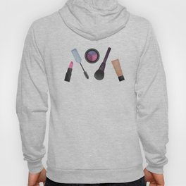 Scattered Makeup Pattern Hoody