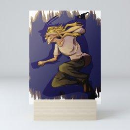 All Might / Toshinori Yagi Design (My Hero Academia) Mini Art Print