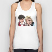 caleb troy Tank Tops featuring Troy and Rowsdower by turddemon