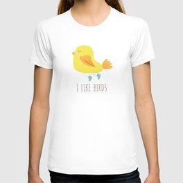 I like birds T-shirt