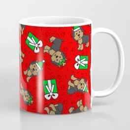 Merry Yorkies Coffee Mug