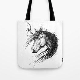 Shaggy Unicorn Tote Bag