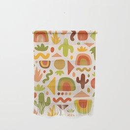 Succulent Cutout Print Wall Hanging