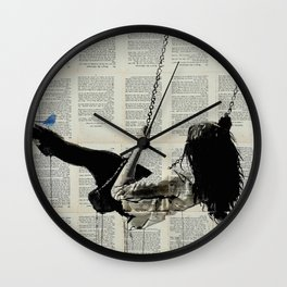 WHERE NOTHING MATTERS Wall Clock