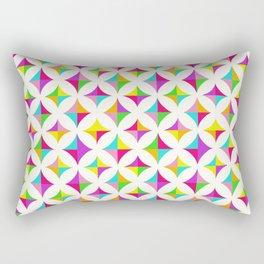 Colour Block 2 Rectangular Pillow