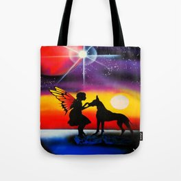 For the Love of a Great Dane Tote Bag