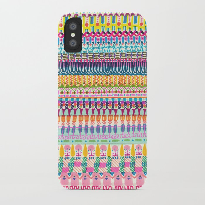 Illustrated Woven  iPhone Case