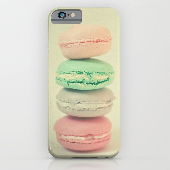 Four Macarons iPhone & iPod Case