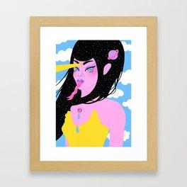 Bablien II Framed Art Print