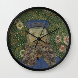 Portrait of Joseph Roulin Wall Clock