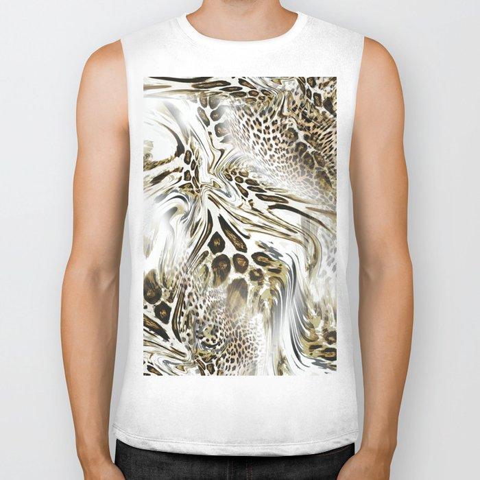 Trend Leopard Pattern Biker Tank