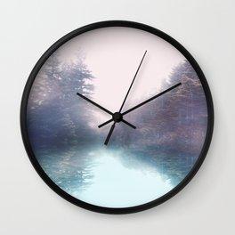 Calm reflexion Wall Clock