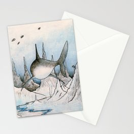 Shark Exploration Stationery Cards
