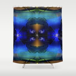 The Great Filter Shower Curtain