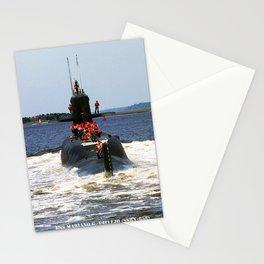 USS MARIANO G. VALLEJO (SSBN-658) Stationery Cards