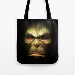 Orc face Tote Bag